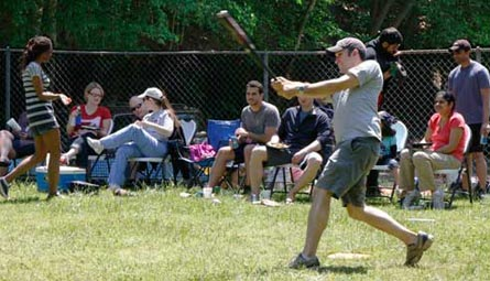 2012 faculty vs. residents softball game