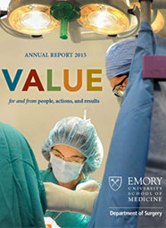 2015 Emory Surgery Annual Report