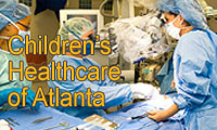 Graphic link to the Children's Healthcare of Atlanta website.