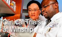 Clinical trials sponsored by the Winship Cancer Institute of Emory University