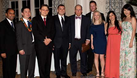 2012 graduating chiefs with Dr. Charles Staley, 2012 Chiefs Dinner