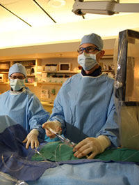 A general surgery procedure at Emory University Hospital.